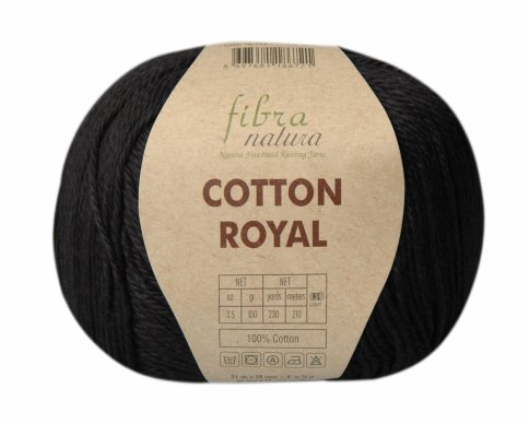 Пряжа Fibra Natura Cotton Royal 100% хлопок, 100г/210м