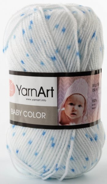 Пряжа YarnArt Baby Color, 100% акрил, 50гр/150м