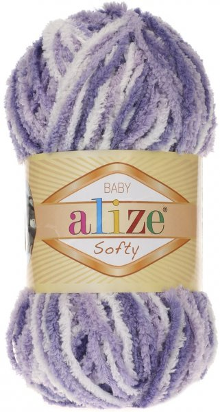 Пряжа Alize Softy, 100% микрополиэстер