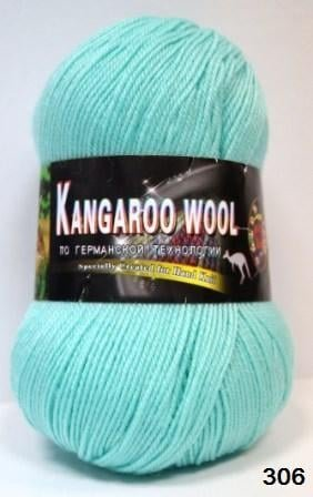 Пряжа Color City Kangaroo Wool 95% меринос, 5% кенгуру
