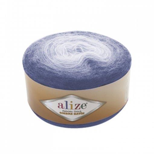Пряжа Alize Angora Gold Ombre Batik, 20% шерсть, 80% акрил, 150гр/825м, арт. AAGOB ALIZE | Купить онлайн на Mybobbin.ru