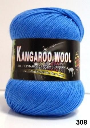 Пряжа Color City Kangaroo Wool 95% меринос, 5% кенгуру фото 14866
