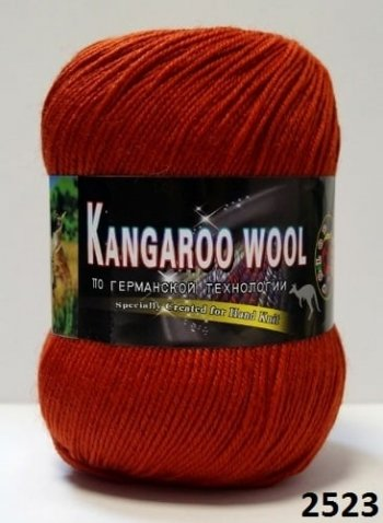 Пряжа Color City Kangaroo Wool 95% меринос, 5% кенгуру фото 14896