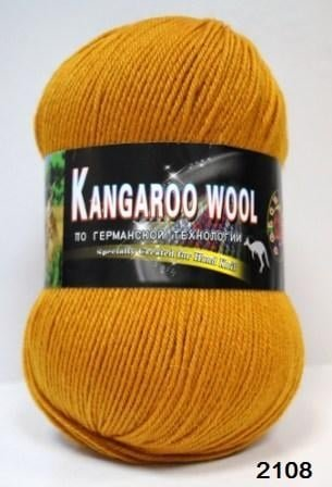 Пряжа Color City Kangaroo Wool 95% меринос, 5% кенгуру фото 14878