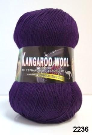 Пряжа Color City Kangaroo Wool 95% меринос, 5% кенгуру фото 14883