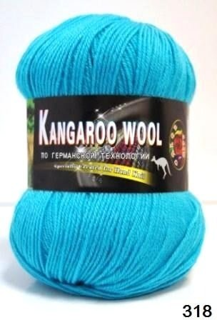 Пряжа Color City Kangaroo Wool 95% меринос, 5% кенгуру фото 14869