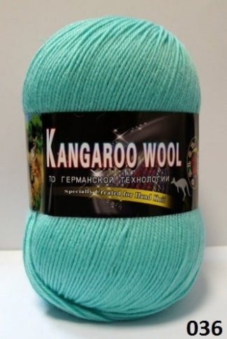 Пряжа Color City Kangaroo Wool 95% меринос, 5% кенгуру фото 14852