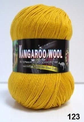 Пряжа Color City Kangaroo Wool 95% меринос, 5% кенгуру фото 14855