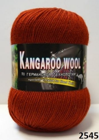 Пряжа Color City Kangaroo Wool 95% меринос, 5% кенгуру фото 14898