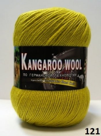 Пряжа Color City Kangaroo Wool 95% меринос, 5% кенгуру фото 14854