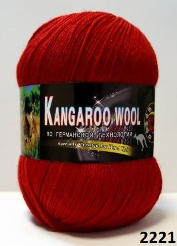 Пряжа Color City Kangaroo Wool 95% меринос, 5% кенгуру фото 14880