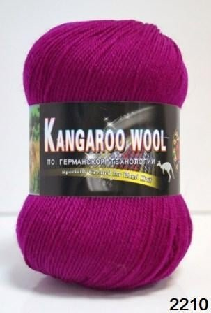 Пряжа Color City Kangaroo Wool 95% меринос, 5% кенгуру фото 14879