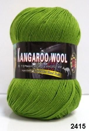 Пряжа Color City Kangaroo Wool 95% меринос, 5% кенгуру фото 14889