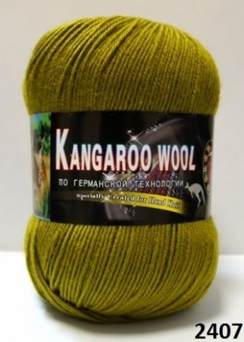 Пряжа Color City Kangaroo Wool 95% меринос, 5% кенгуру фото 14888