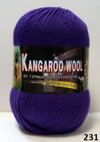 Пряжа Color City Kangaroo Wool 95% меринос, 5% кенгуру фото 14858