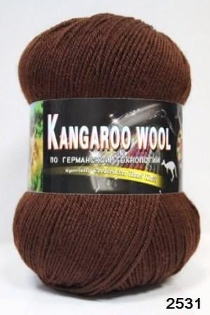 Пряжа Color City Kangaroo Wool 95% меринос, 5% кенгуру фото 14897