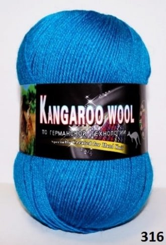 Пряжа Color City Kangaroo Wool 95% меринос, 5% кенгуру фото 14868