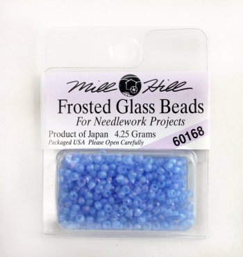 Бисер Frosted Glass Beads, цвет 60168 фото 8677