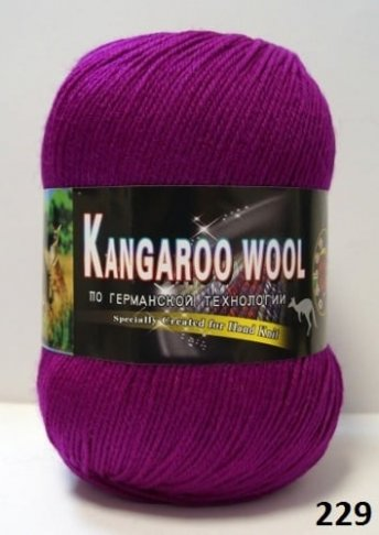 Пряжа Color City Kangaroo Wool 95% меринос, 5% кенгуру фото 14857