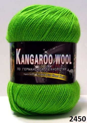 Пряжа Color City Kangaroo Wool 95% меринос, 5% кенгуру фото 14892