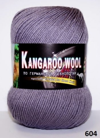 Пряжа Color City Kangaroo Wool 95% меринос, 5% кенгуру фото 14872