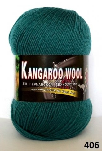 Пряжа Color City Kangaroo Wool 95% меринос, 5% кенгуру фото 14870