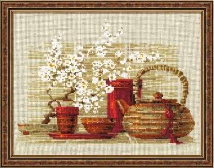 Чай, набор для вышивки фото