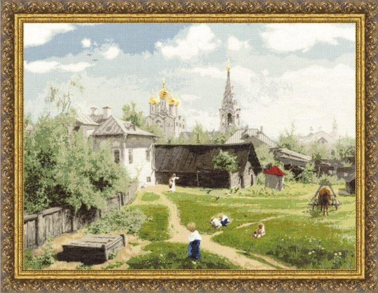 Московский дворик, набор для