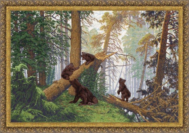 лесу, набор для вышивки